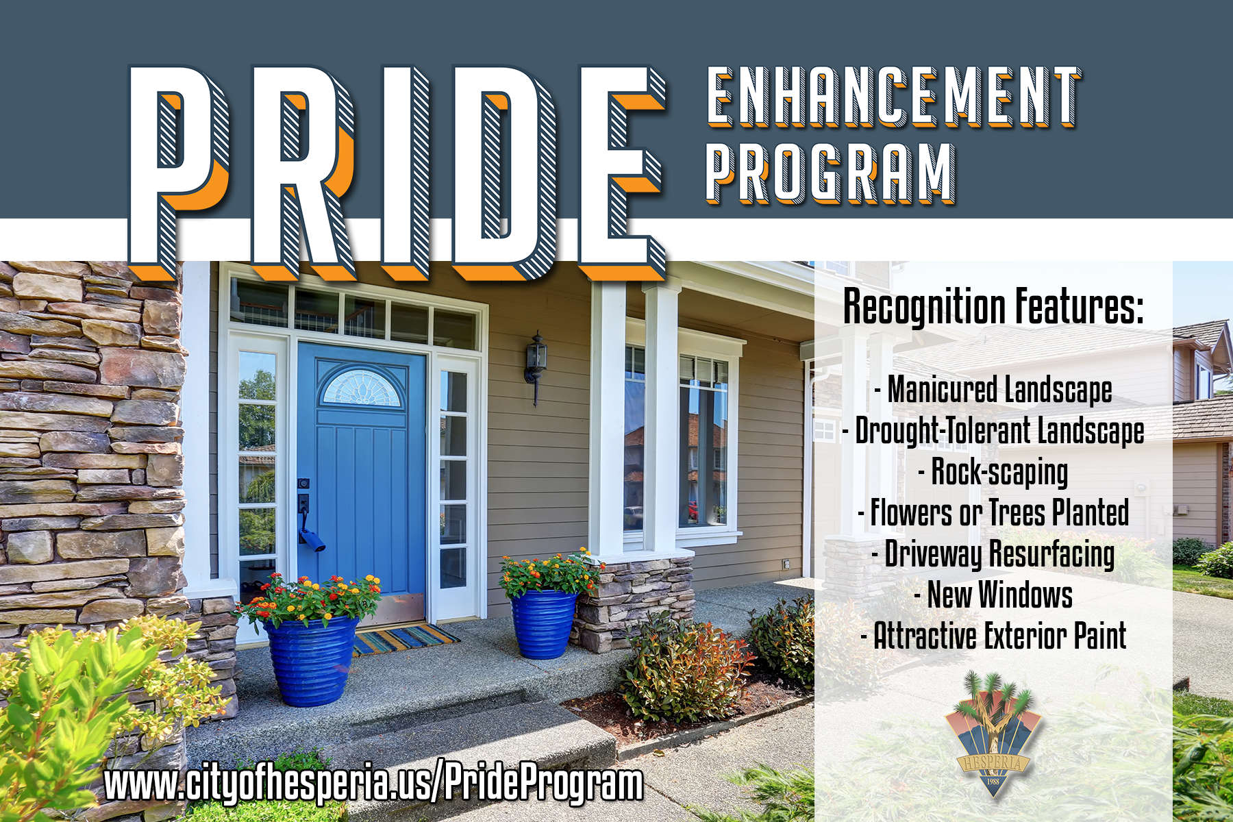 Pride Enhancement Program