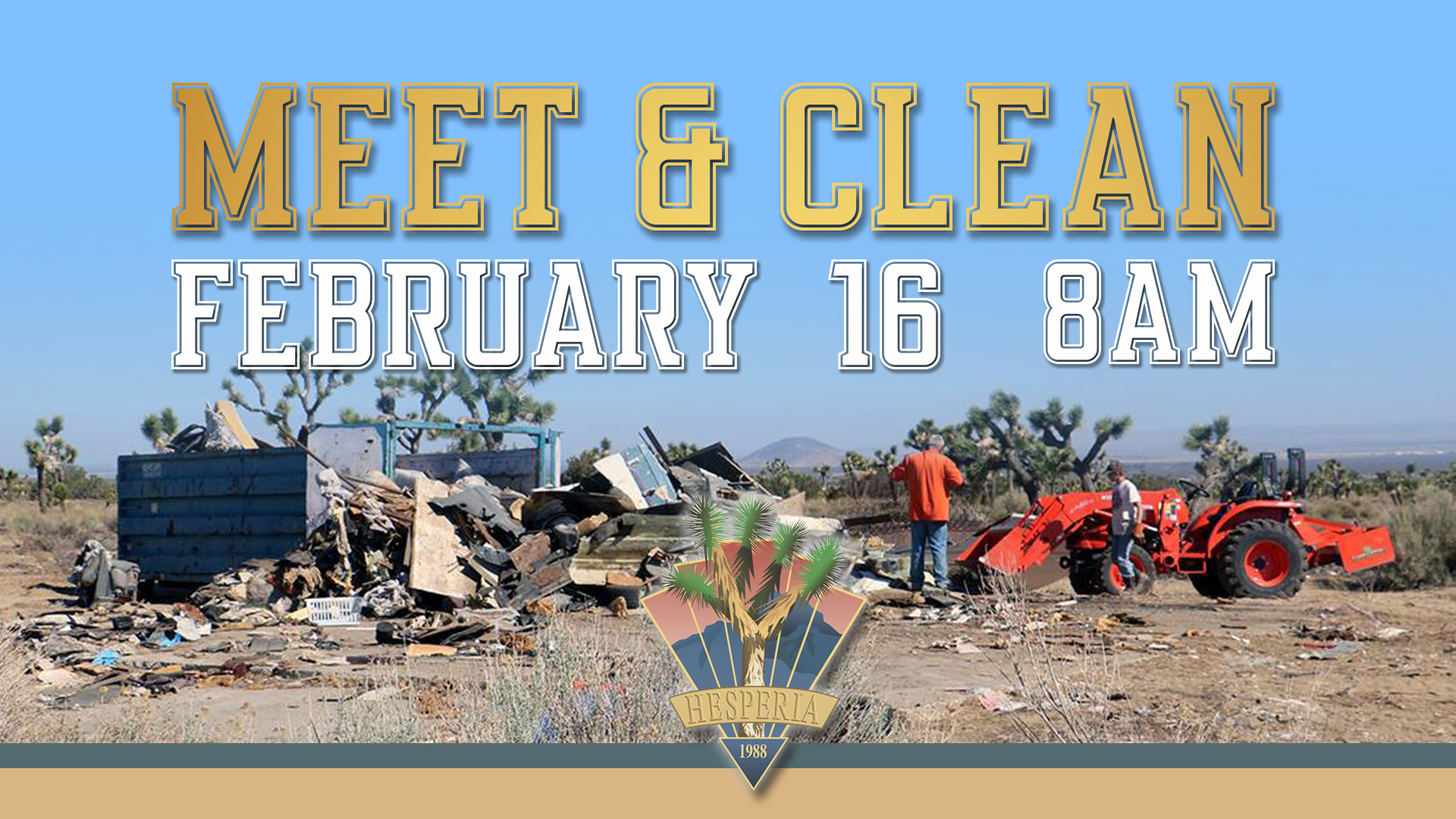 Meet and Clean February 2019 Flyer