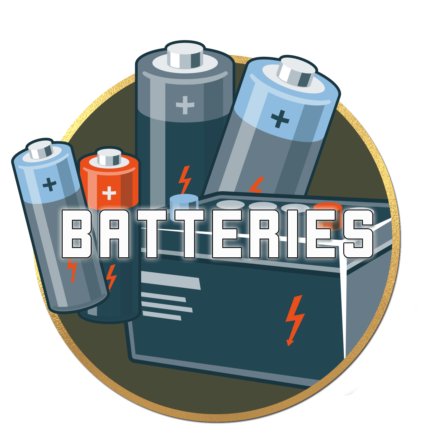 Batteries-Button