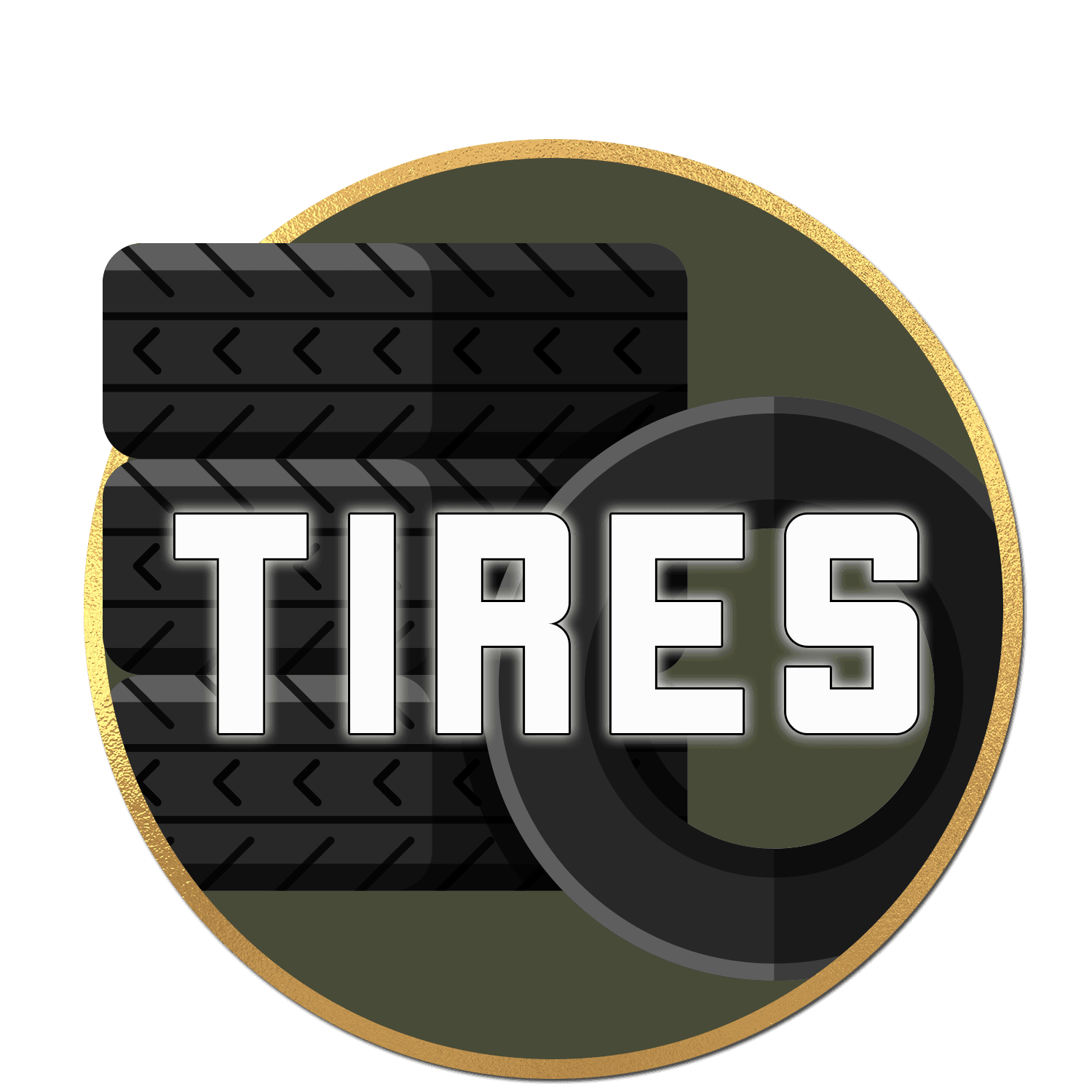 Tires-Button