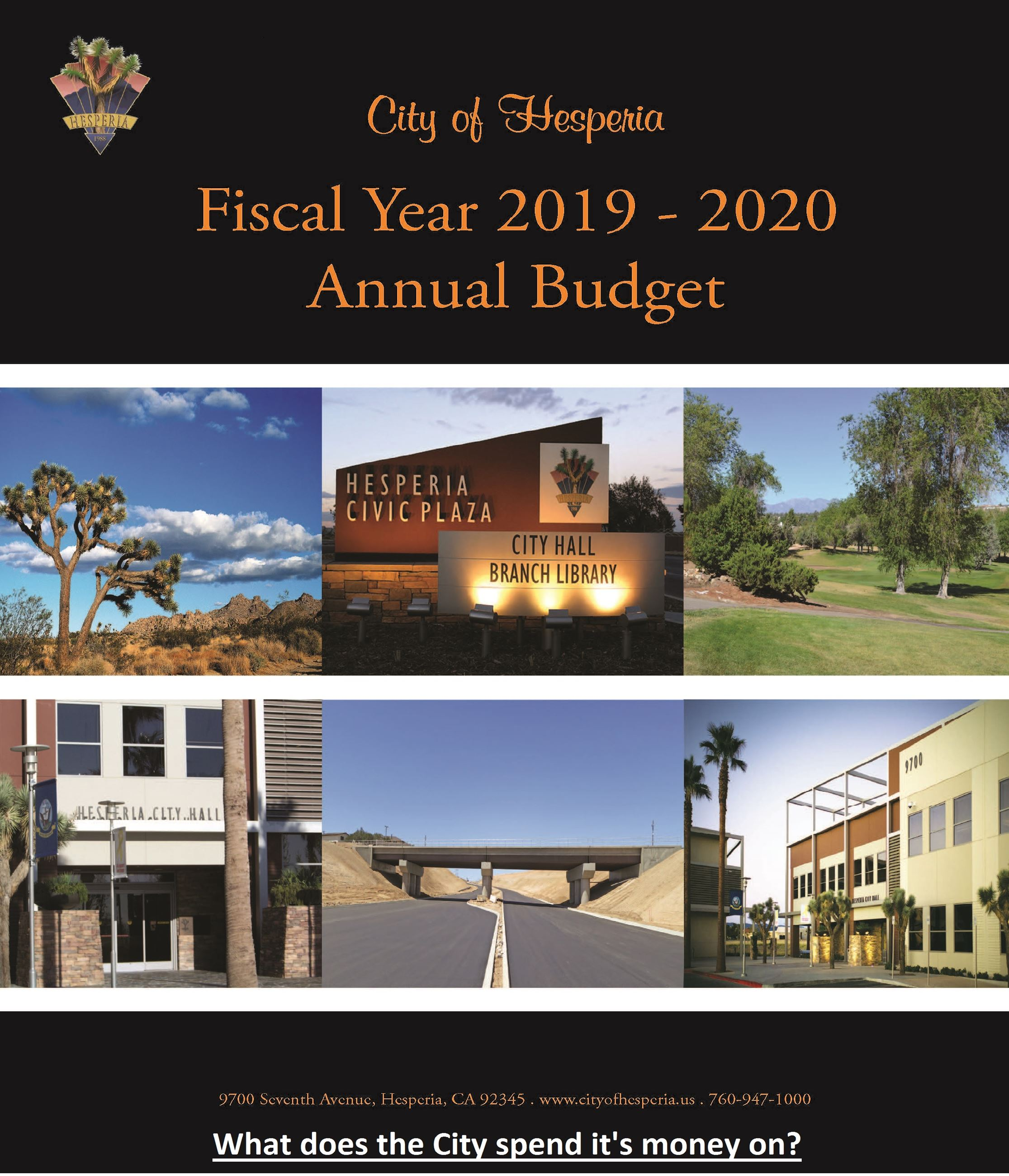 Fiscal Year 2019-20 Annual Budget